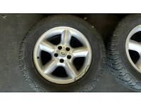"Land rover 18""alloy wheels"