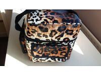 Leopard Print Roi Beauty Bag/Case