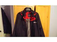 BERGHAUS Men's RG Delta Waterproof Jacket Large Used