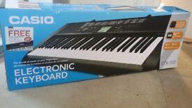 Lightweight Casio CTK-1150 keyboard Piano with original box