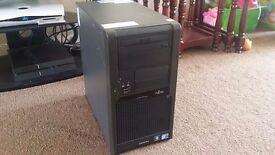 Gaming PC, Intel Core2Duo 2.83Ghz Quad Core 64BIT, 8GB RAM, 500GB HD, Geforce 310 512MB, Wifi, Win10
