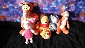 Winnie the pooh teddy bundle £10