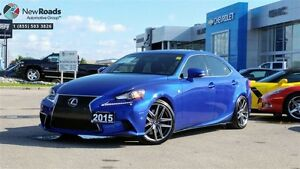2015 Lexus IS 350 FSPORT, NAV, NO CLAIMS, 2SETS OF RIMS/ TIRES