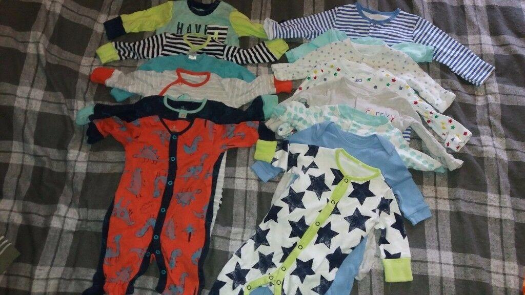 Baby grow bundle 0-3 Next