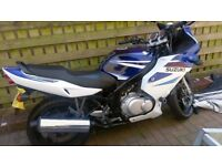 2008 suzuki GS 500f for sale .Very tidy and runs well