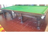 Full size snooker table vgc