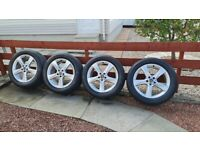 Mercedes ML 166 OEM 19 ins Alloy Wheels with Tyres