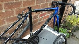 carrera raceing bike spares or repair
