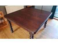 Victorian wind Out Extending Mahogany Dining Table