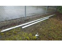 18 ft Mast And 9ft Boom Good Condition