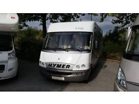Hymer B514 LHD German hispec, 4 berth, garage, 4 x belts excellent condition.