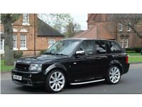 RANGE ROVER SPORT WITH HST BODY KIT