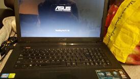 """Asus x75v i5 17"""" laptop for sale"""