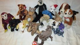 ty beanie babies and other soft toys - lot 6