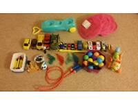 Lots of toys for your little one..