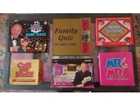 Five Great Games for family and friends, and a box of 125 easy Magic Tricks to amuse and amaze.