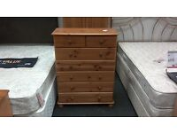 Chest of 7 drawers pine - British Heart Foundation