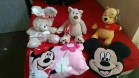 5 NEW Soft Toys
