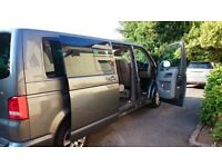 VW Transporter Shuttle, 9 Seats great Condition grey colour 68,000 miles