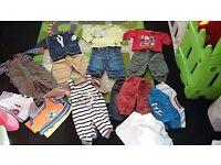 Bundle of boys clothes age 6-9 months