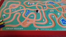 Rare Chad Valley Vibra Car Race Game
