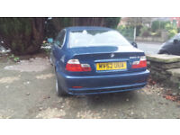 BMW COUPE, 3 DOOR SPORTS, PETROL