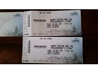 2 tickets for Harry Potter and The Philosopher's Stone