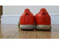 Addidas f50 used trainers