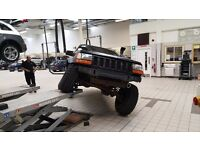 Modified Jeep Grand Cherokee ZJ 4.0 1998 Off Road Ready