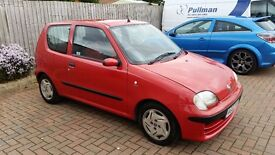 2003 Fiat Seicento 1.1 Active petrol manual 5 speed new MOT