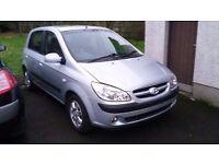 2007 Hyundai Getz 1.4CDX £595ono