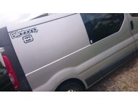 Vauxhall Vivaro LWB day van