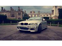BMW 318 ci 2.0 convertible silver M Sport body kit great car £2700!!!