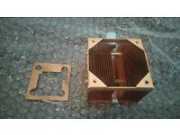 Official CoolerMaster Socket A Pure Copper CPU Cooler Heatsink