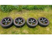 Lenso samurai project D D1-R alloy wheels