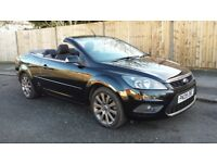 Ford Focus 2.0 cc-2 Diesel 09 plate convertible 1 lady owner history great car full electrics