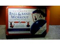 Ball and Band workout