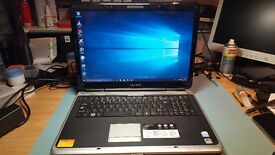 Advent 6650 Laptop, 320gb Hard Drive, 4gb Memory, Dual Core, 17 Inch