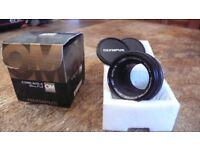Olympus Zuiko 50mm f/1.4 lens, OM fit