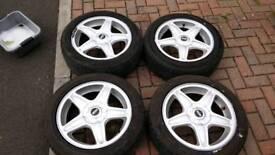 "Mini R53/R56 16"" Starblaster Alloy Wheels"