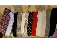 12 pairs hardly used girls leggings Jeans Christmas gift
