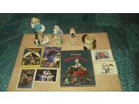 Wallace and gromit collector item bundle