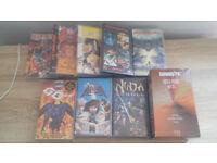 ANIME MANGA VHS video job lot - New