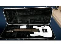 Ibanez RG8 8 string electric guitar with Black Rat hard case