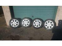 "Vauxhall astra corsa 15"" inch alloys alloy wheels"