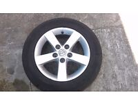 """mazda 3 15"""" alloy and tyre"""