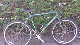 mens bicycle bike falcon safari gears not working but still usable