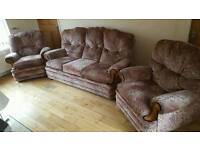 Sofa x 2 chairs, Belfast area, can deliver.