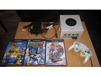 White game cube and games