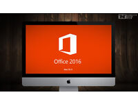 MICROSOFT OFFICE 2016 (MAC EDITION)